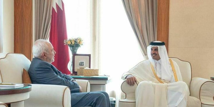 گزارش توئیتری ظریف از سفرش به دوحه؛ فقط ملت های منطقه می توانند امنیت آن را تضمین کنند