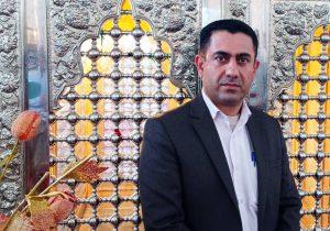 ساخت درب های فلزی بقعه متبرکه امامزاده جعفر علیه السلام شهرستان گچساران